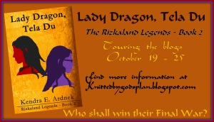 Lady Dragon, Tela Du blog tour